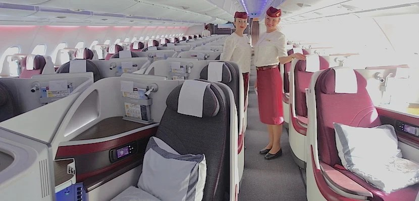 Review Qatar Business Class On The A350 A380 777 And 787
