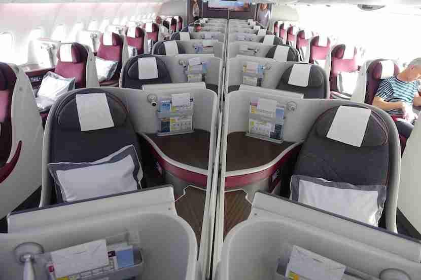 Qatar center seats good