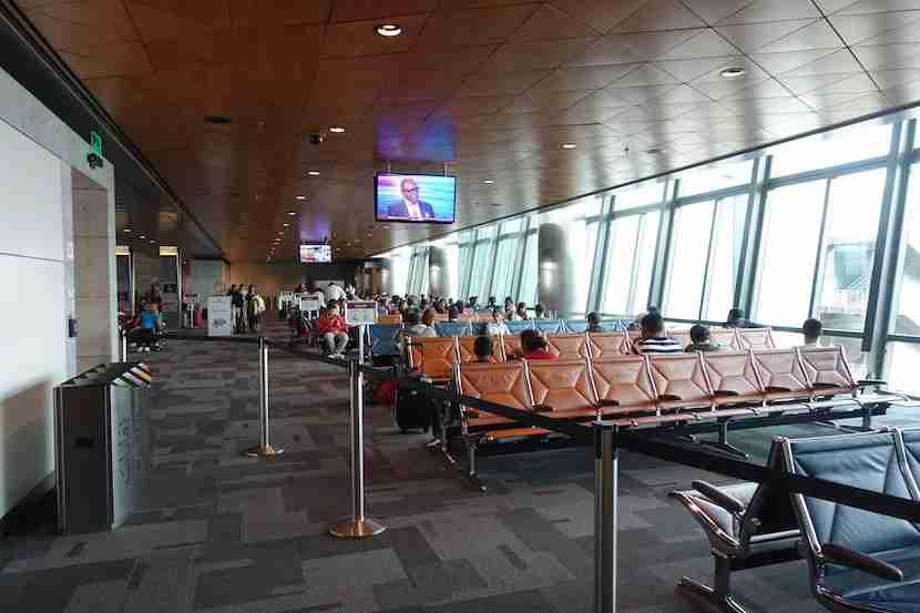 Qatar downstairs gate