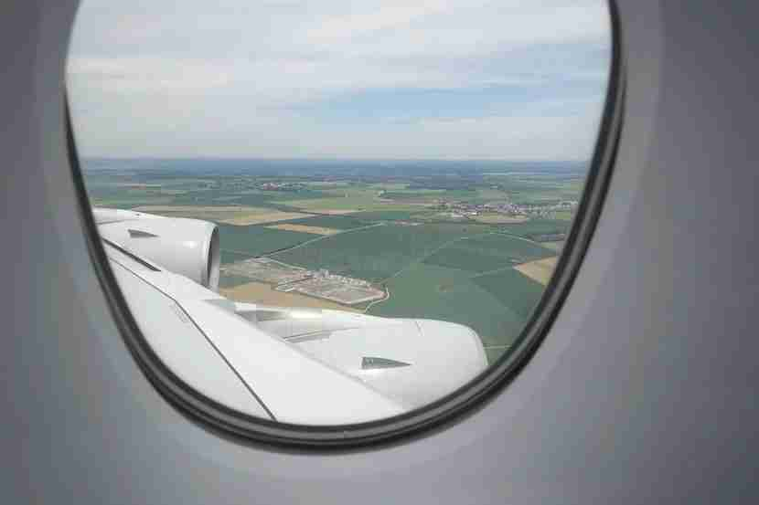 Qatar landing countryside
