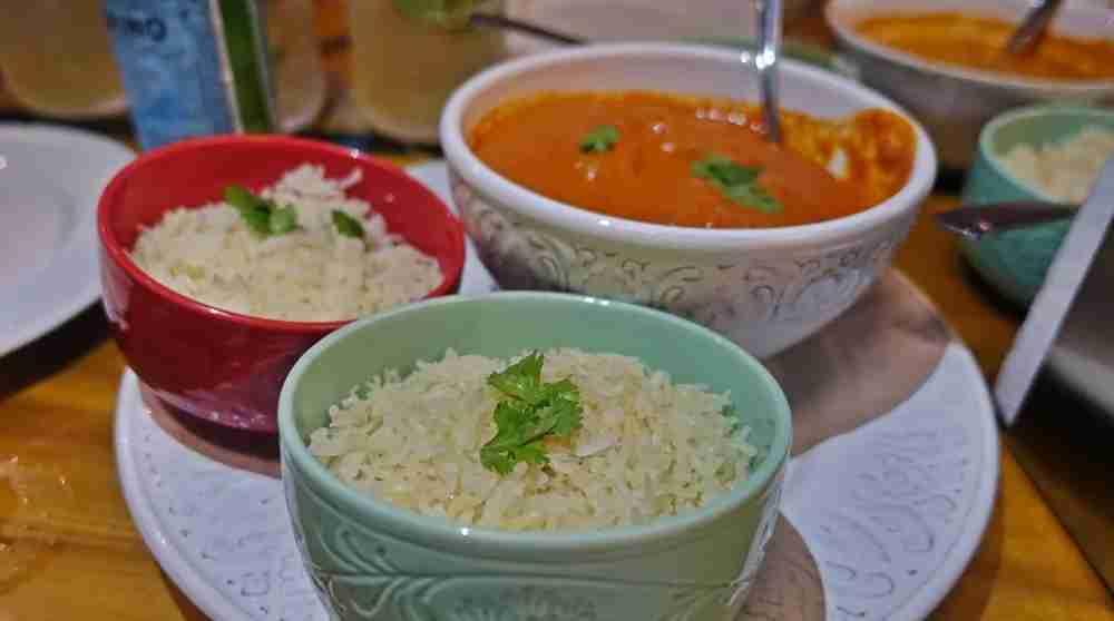 Some tikka masala curry, Guatemala-style.