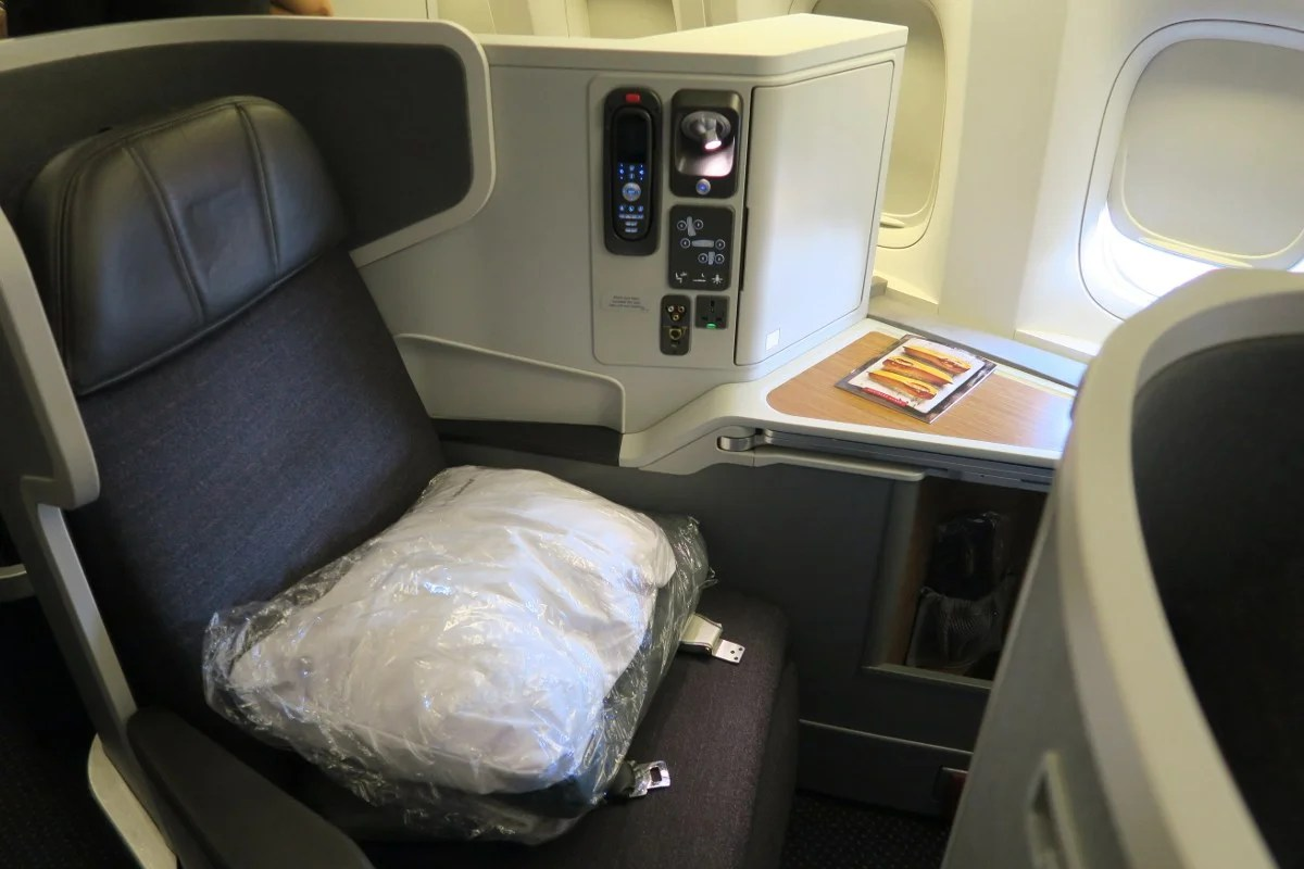 Review: American (777-300ER) Business, Dallas to Hong Kong