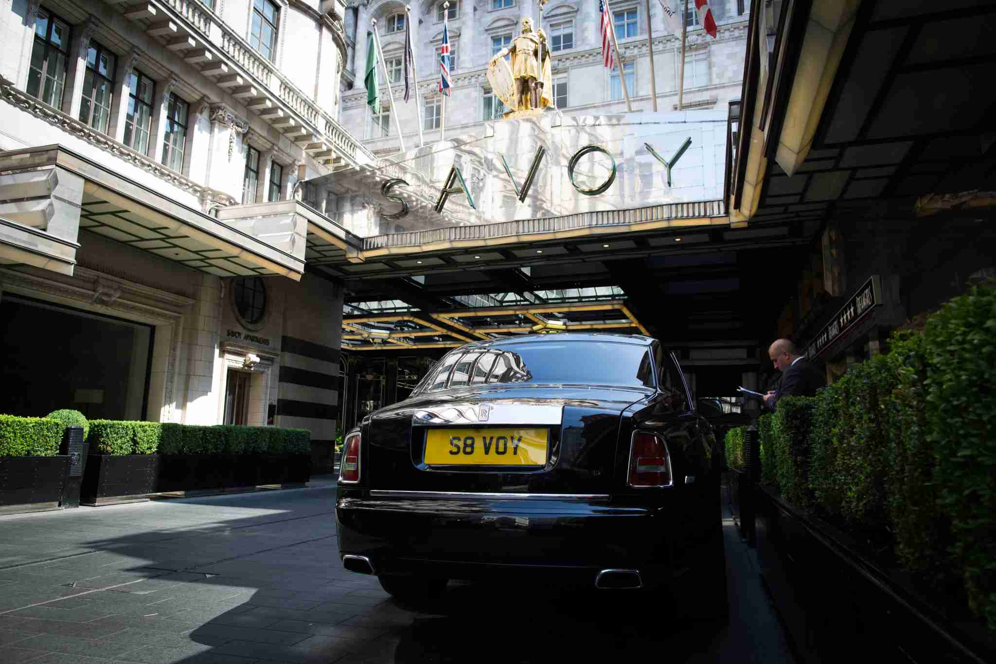 The Savoy in London.