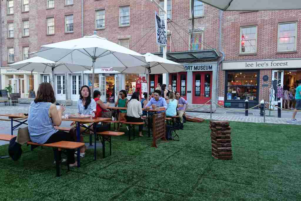 Chase Seaport Food Lab