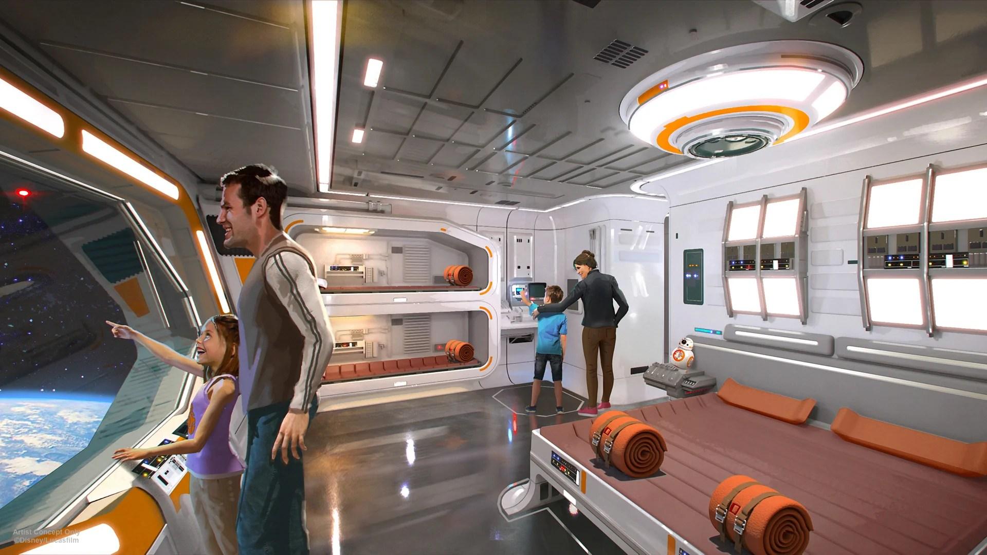 Magnificent Everything We Know About Disneys Star Wars Hotel Download Free Architecture Designs Rallybritishbridgeorg