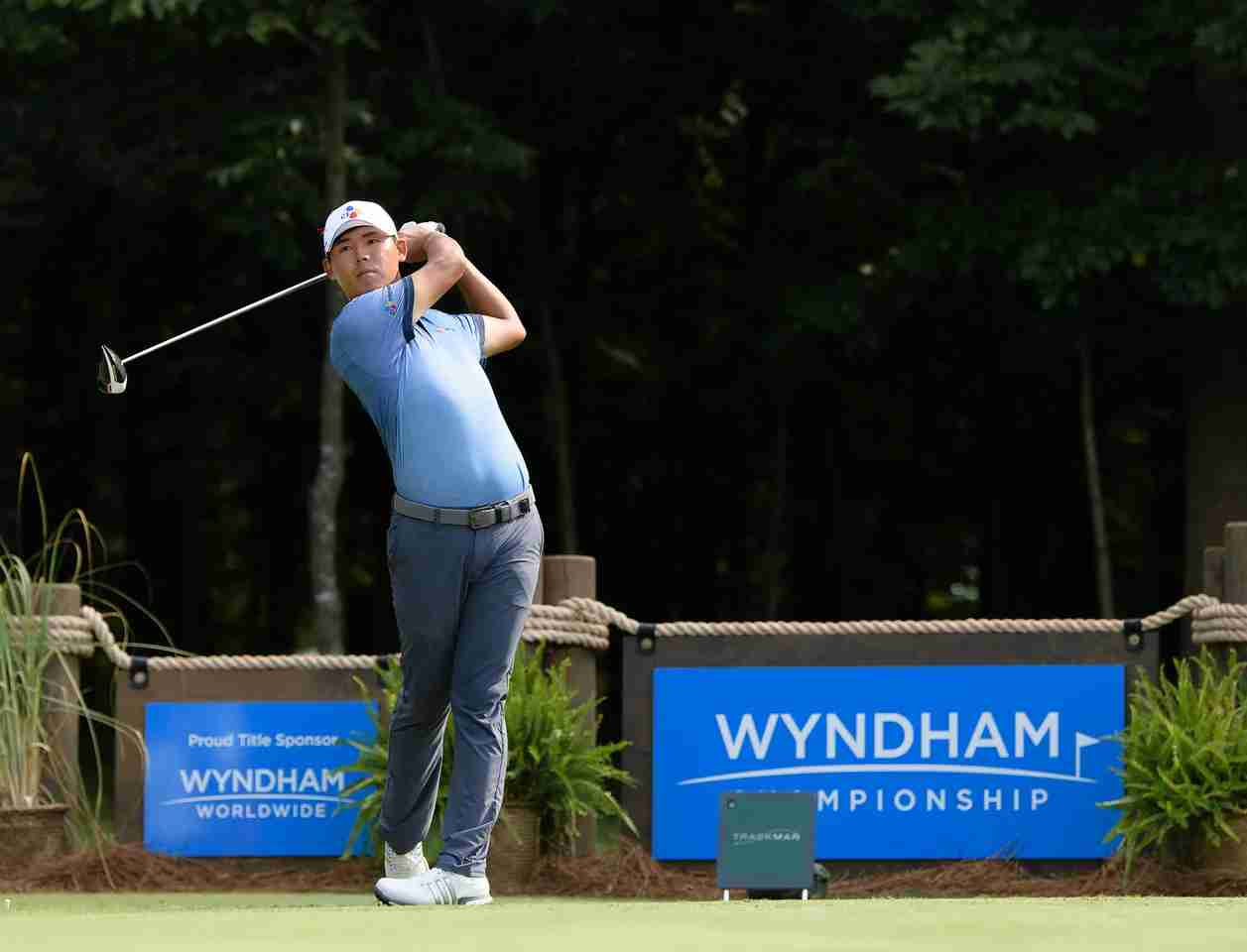 Si Woo Kim at the 2016 Wyndham Championship