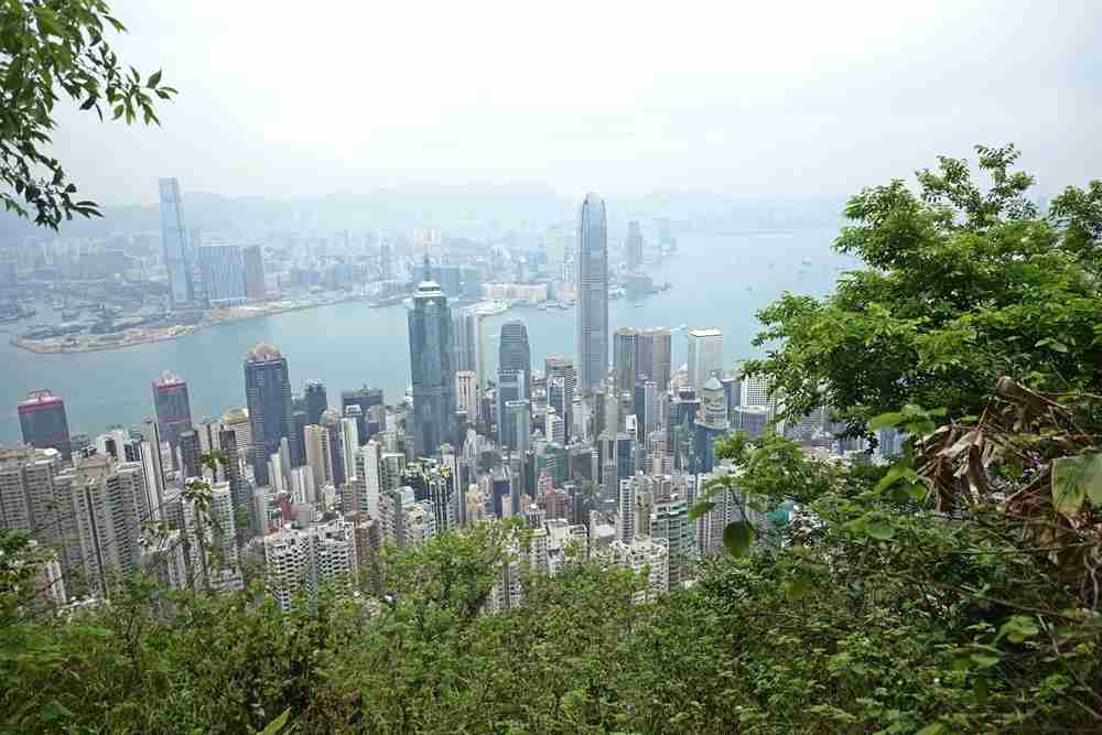 A view from the circle walk at Victoria Peak. Photo courtesy of Lori Zaino.