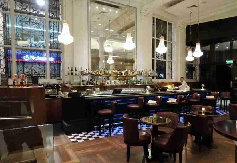 The bar at Wheeler