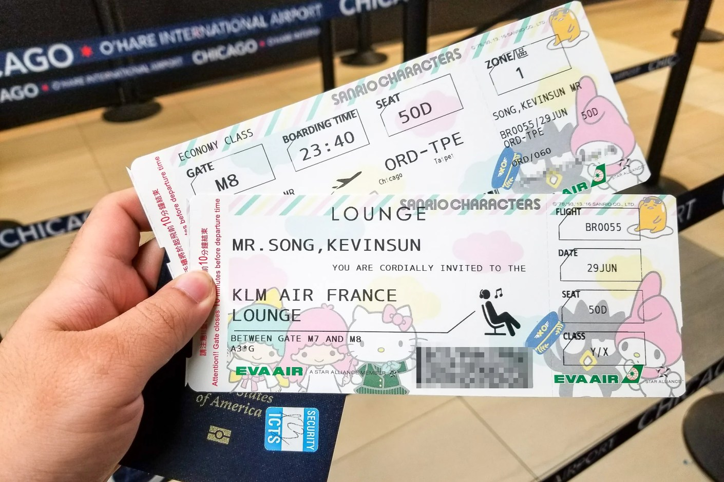 Flight Review: EVA Air Hello Kitty (777-300ER) Economy from