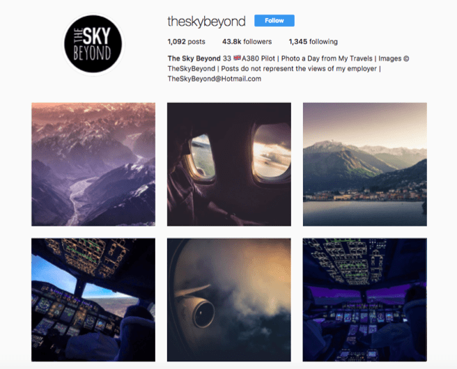 9 Pilots You Should Be Following on Instagram