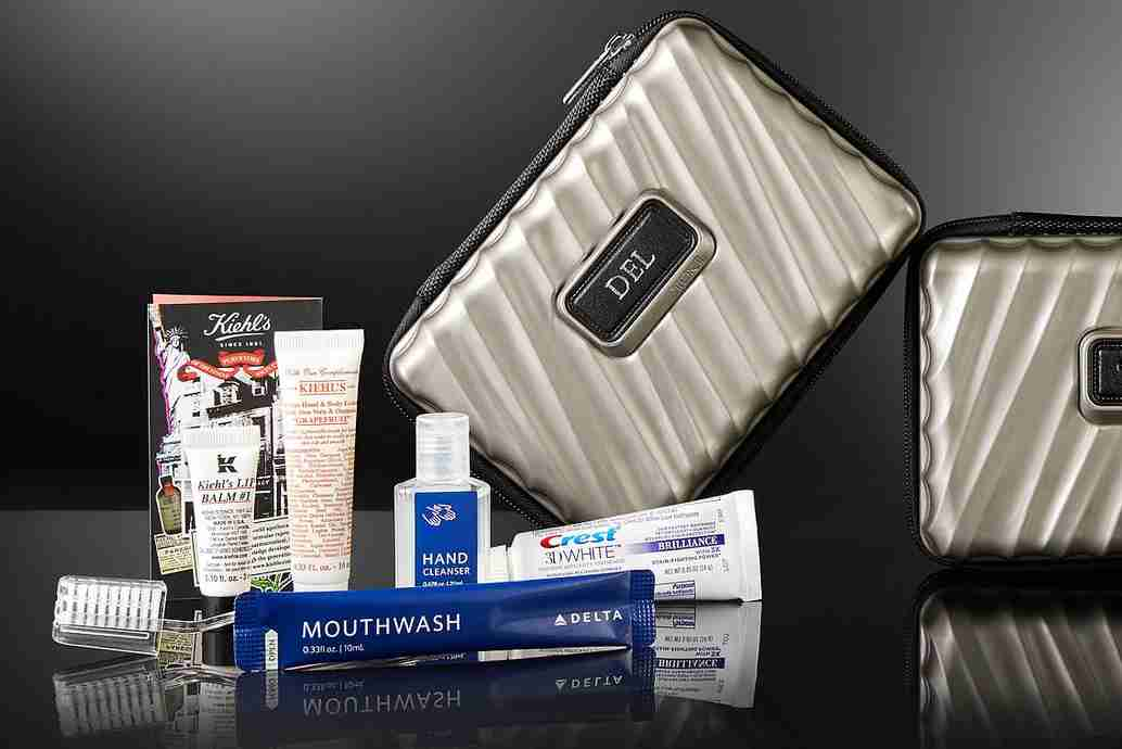 Amenity kits are only going to get better.