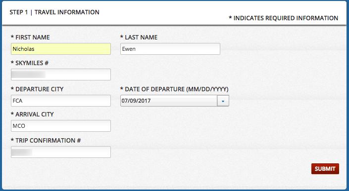 Delta Bag Guarantee form
