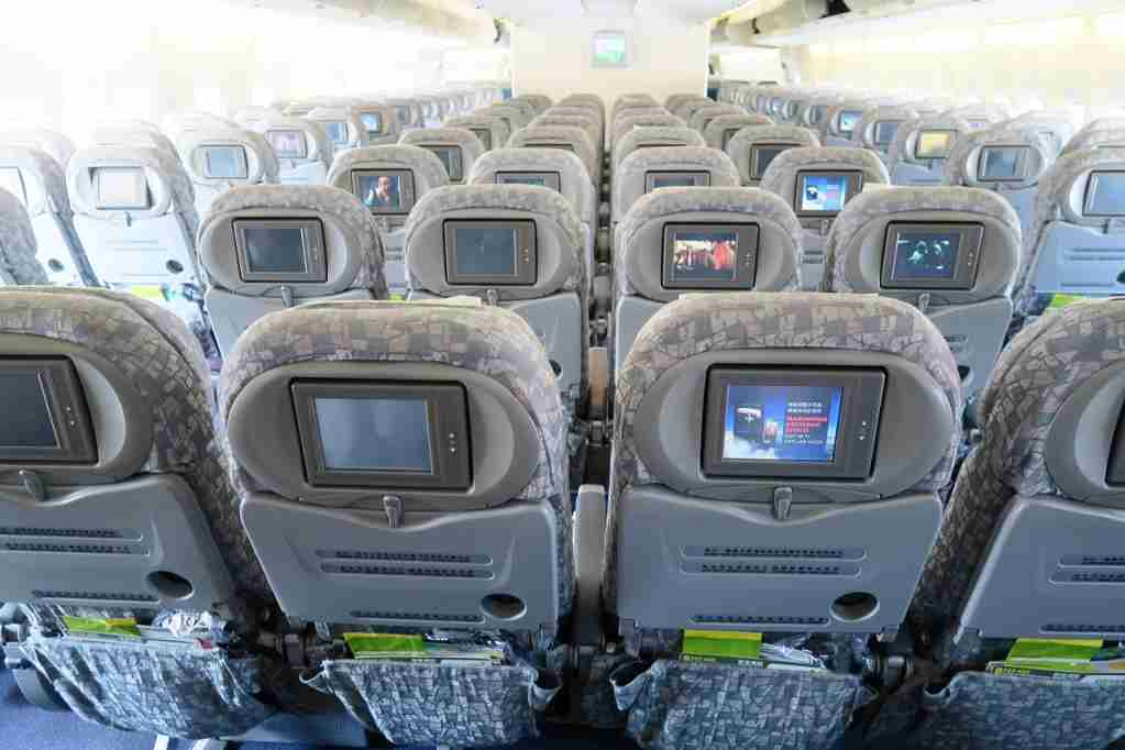 EVA Air Final 747 IFE