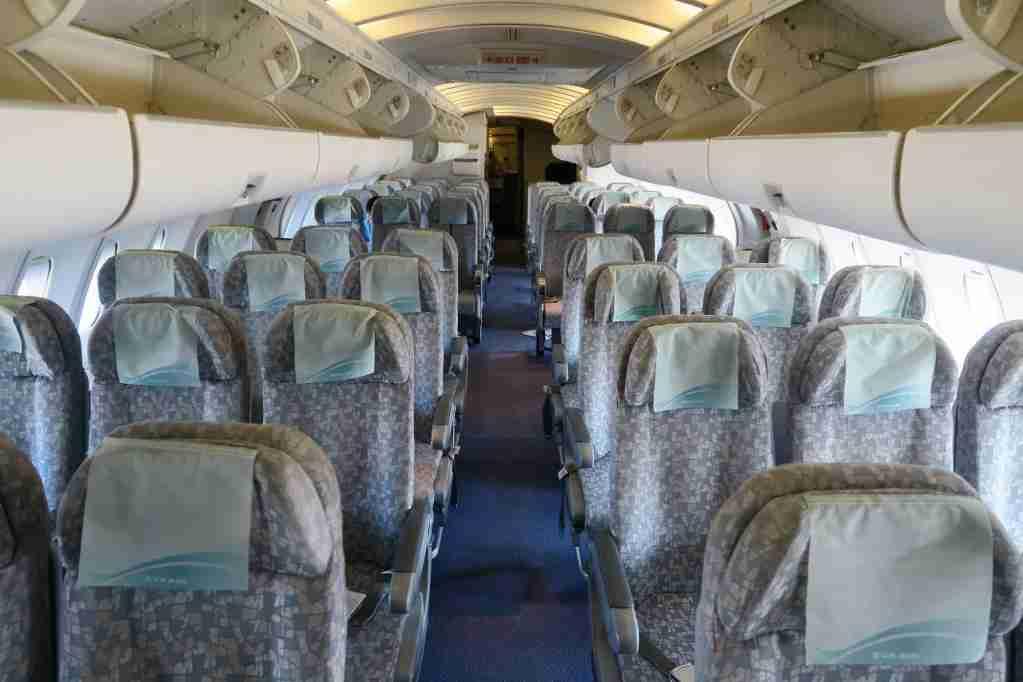 EVA Air final 747 upper deck