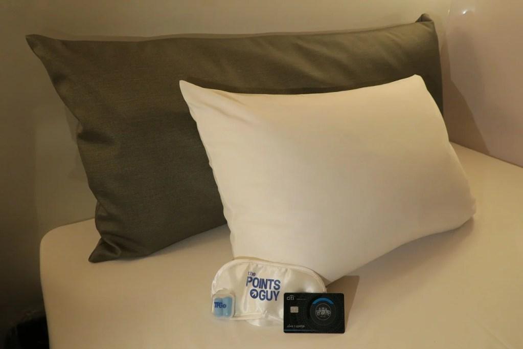 First Cabin First Class pillows