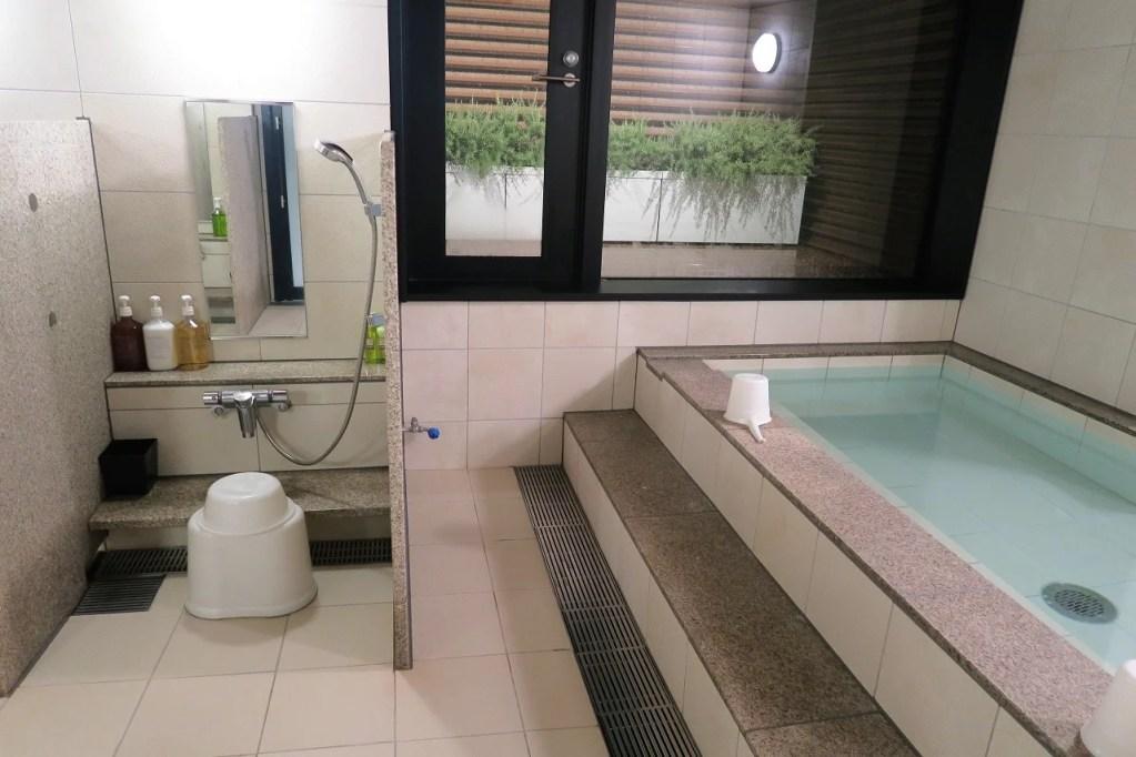 First Cabin Japanese bath