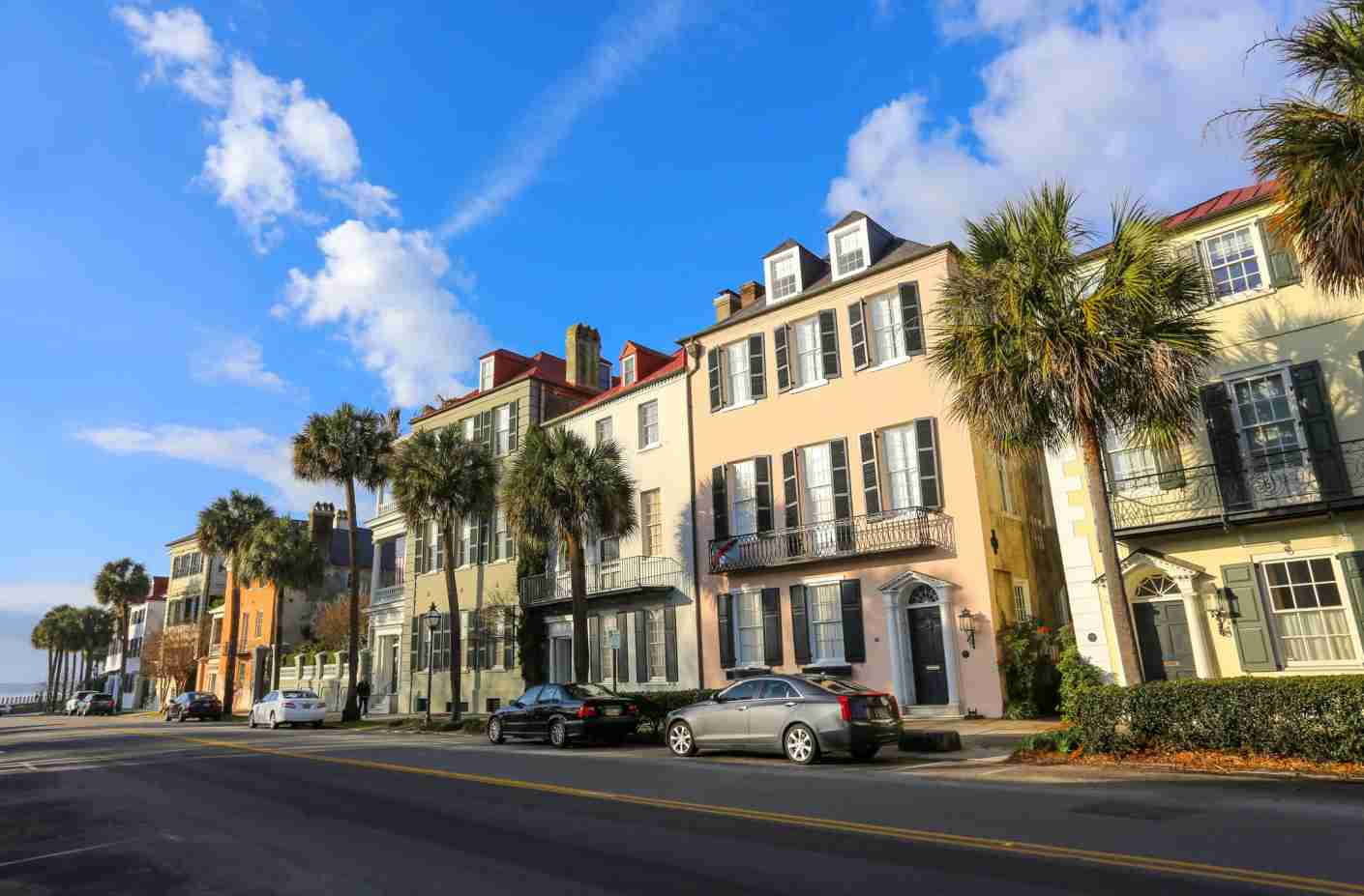 Beautiful day in charming and historic Charleston, SC.