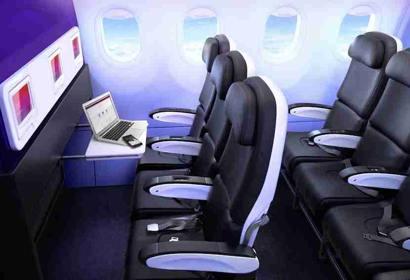 Image courtesy of Virgin America.