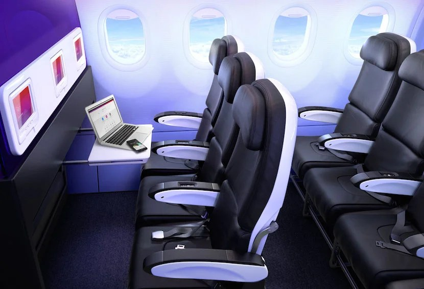 Image Courtesy Of Virgin America. Image Courtesy Of Virgin America. Virgin  Americau0027s Main Cabin Select ...