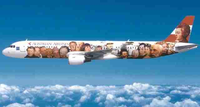 Image courtesy of Austrian Airlines.