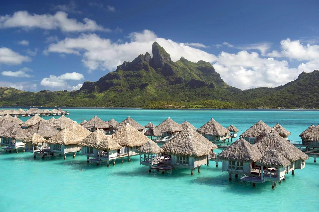 Photo courtesy of St. Regis Bora Bora