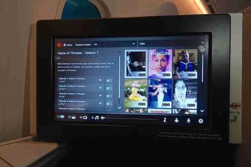 Air Canada HBO