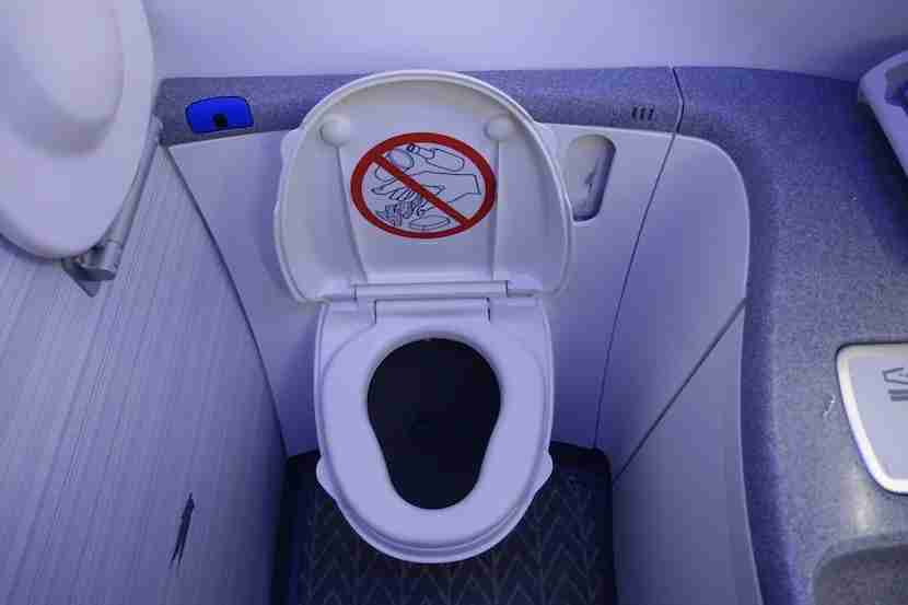 Air Canada lav