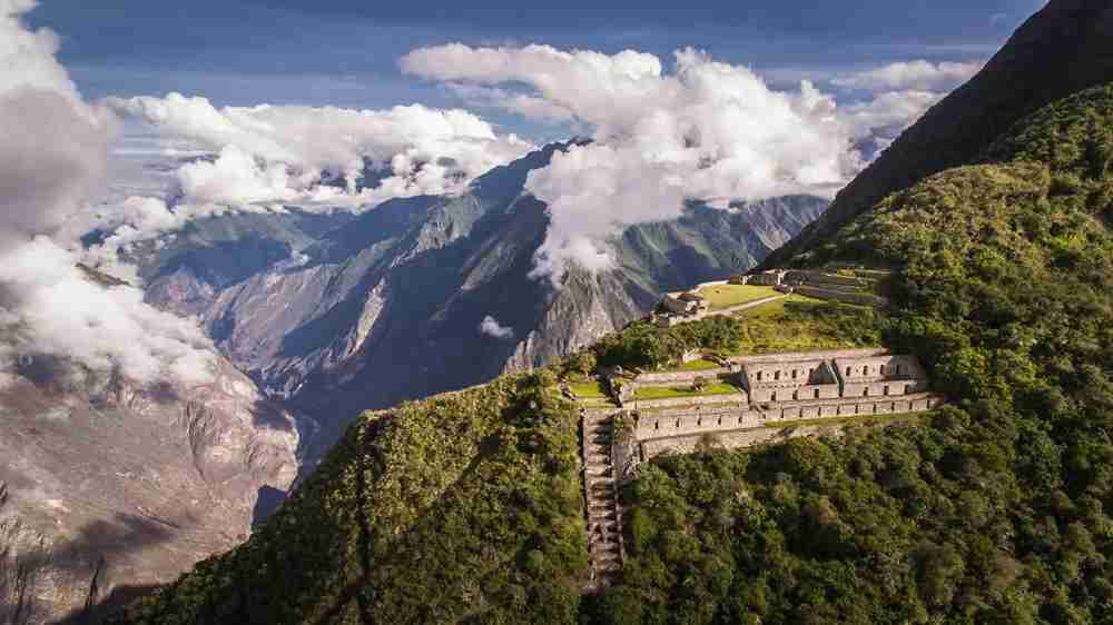 The ruins of Choquequirao are tough to get to, but it