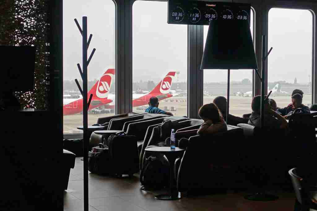 Air Berlin A330 Business Class Review