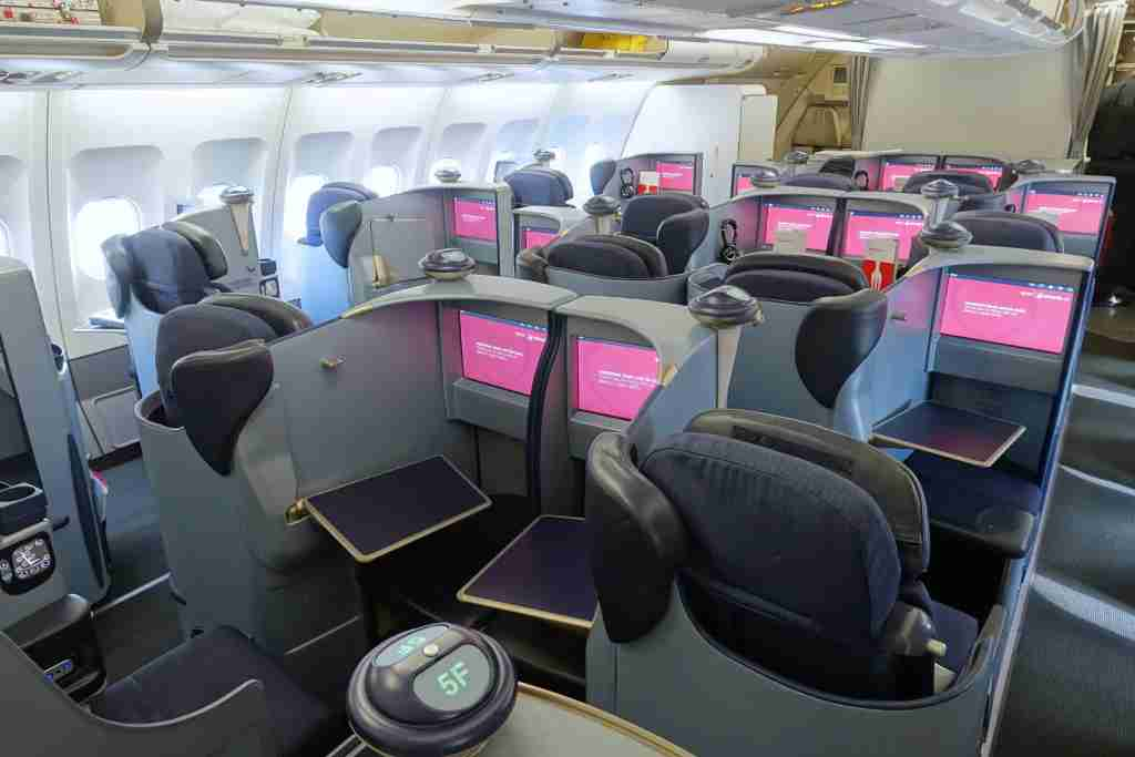 These A330s already offer decent business-class seats.