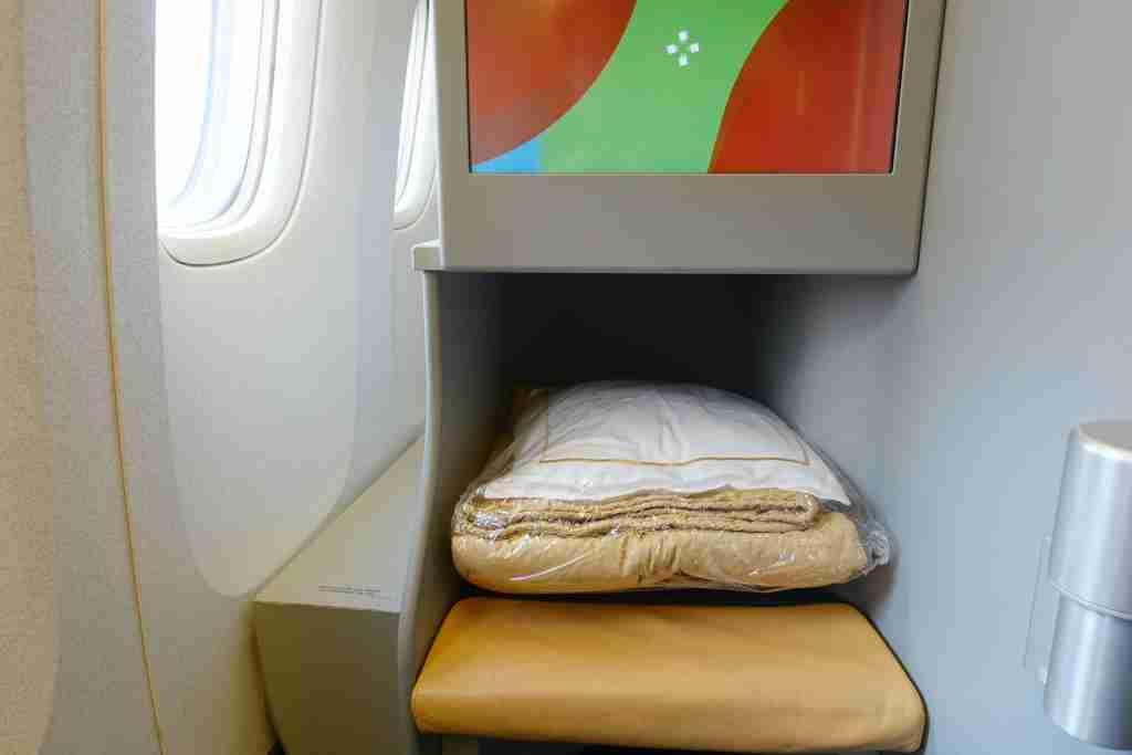 Alitalia 777 Business Class Review