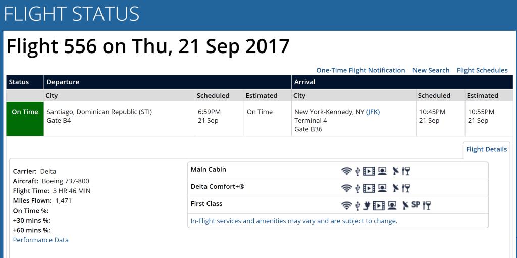 Delta 556 return