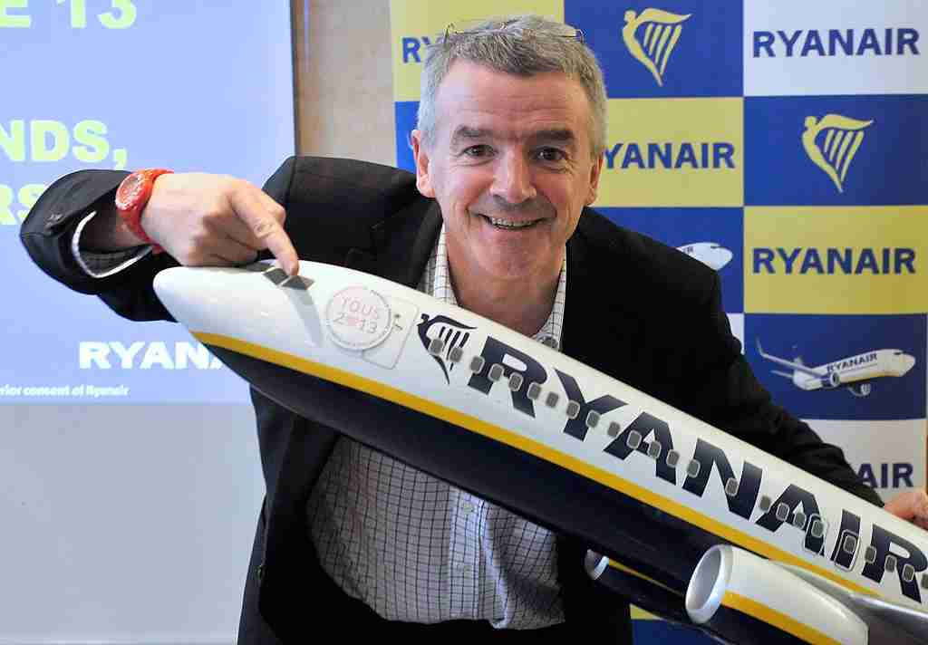 Chief executive officer (CEO) of Irish airline Ryanair Michael O