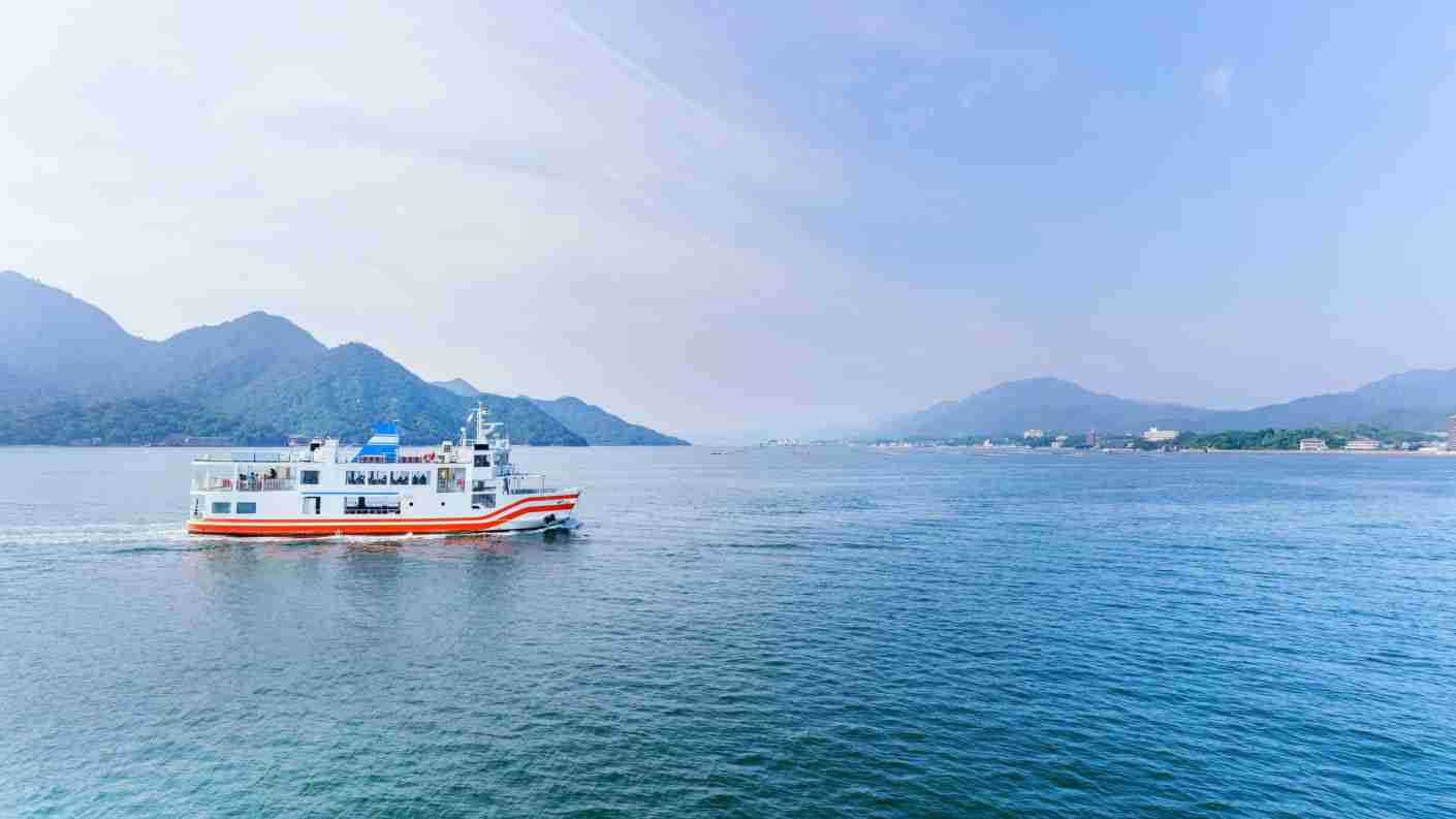 Your JR pass also allows you access to the ferry in Miyajima. Image courtesy of PK6289/Getty Images.