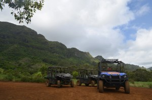 Kipu Ranch Adventures offers ATV tours in movie locations.