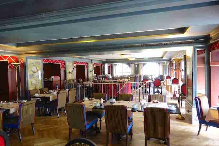 Intercontinental Bordeaux bistro 2nd floor