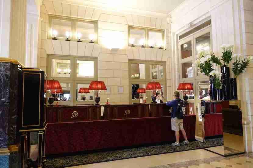 Intercontinental Bordeaux reception
