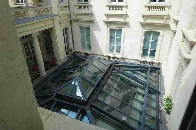 Intercontinental Bordeaux view