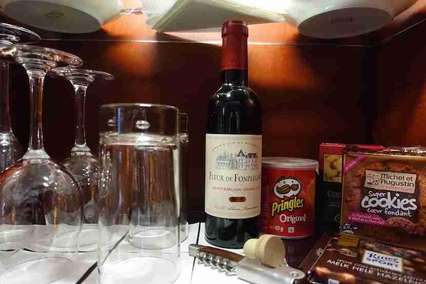 Intercontinental Bordeaux wine