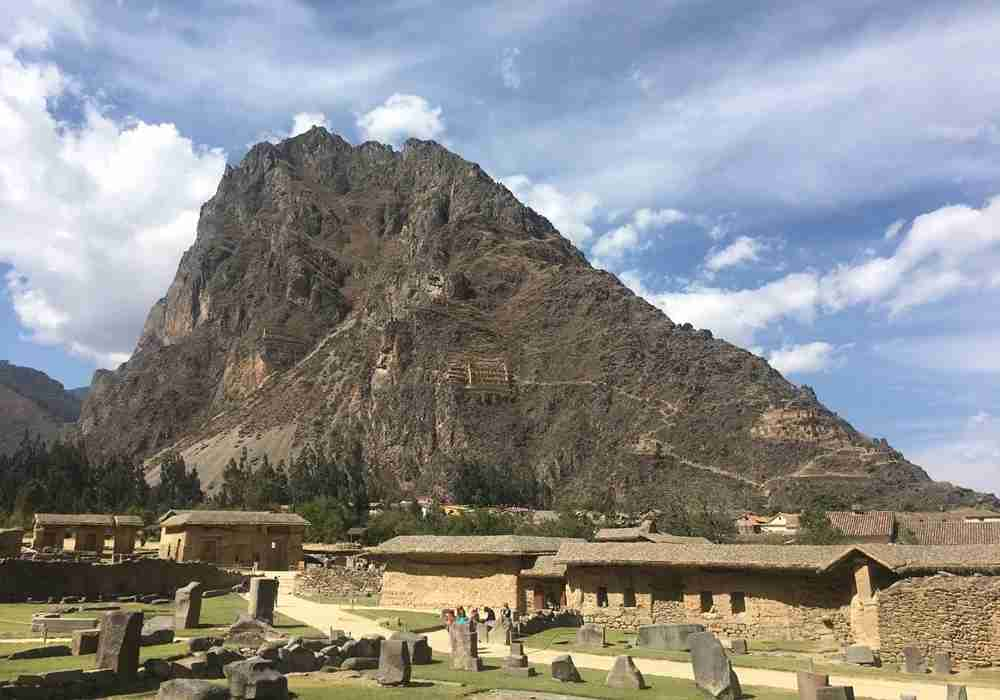 Stop and check out the ruins of Ollantaytambo on the way back from Machu Picchu.