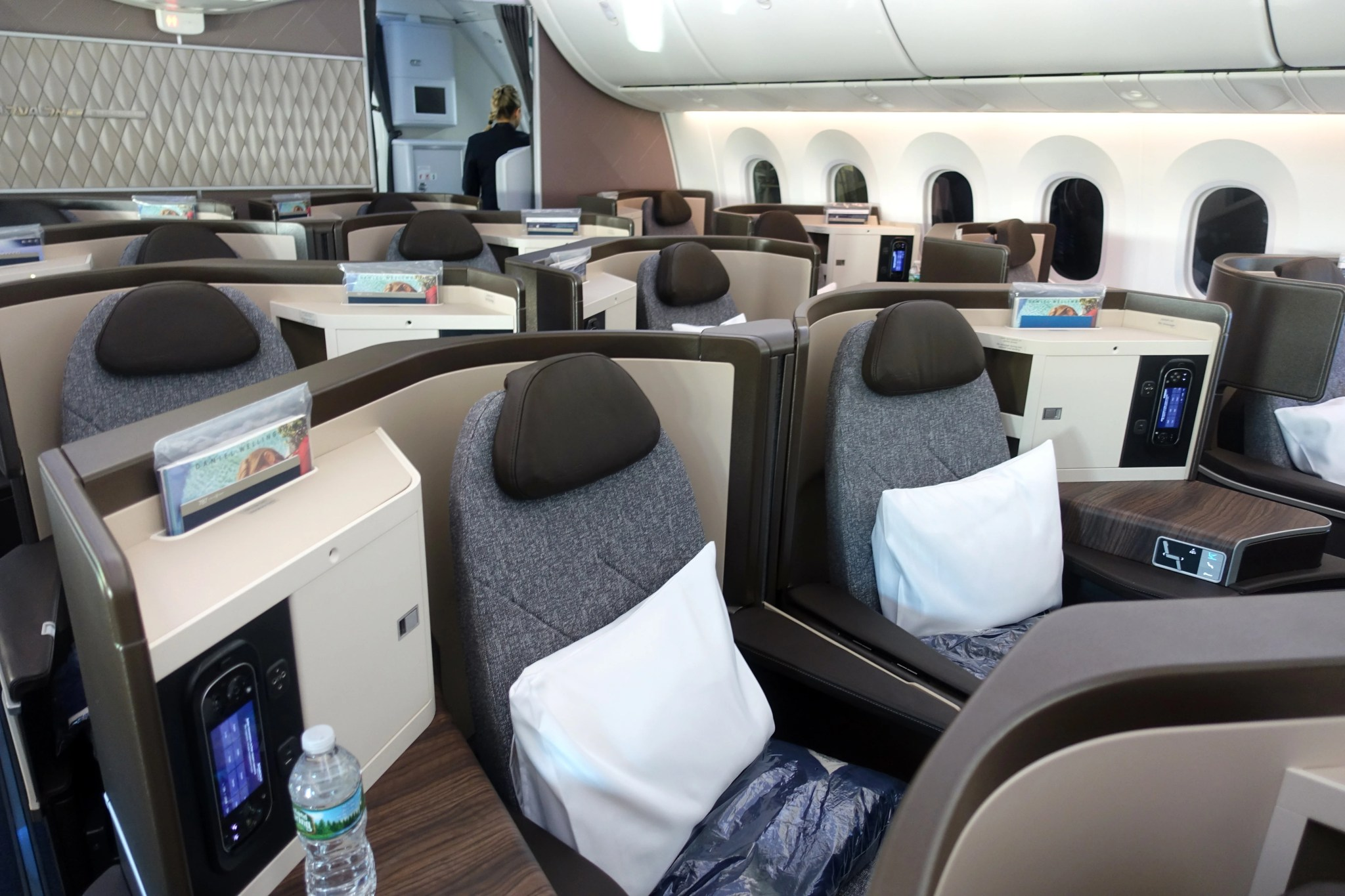 El Al 787 Dreamliner Business