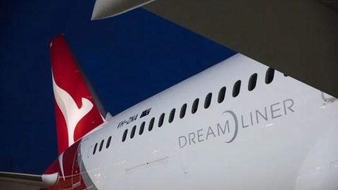 Qantas new york to sydney