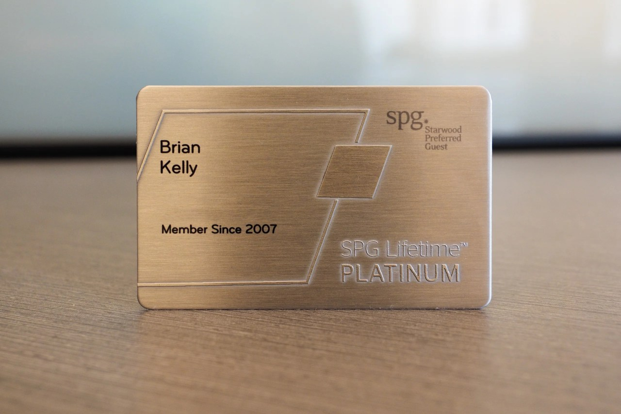 Here's What I Received for Making It to SPG Lifetime Platinum