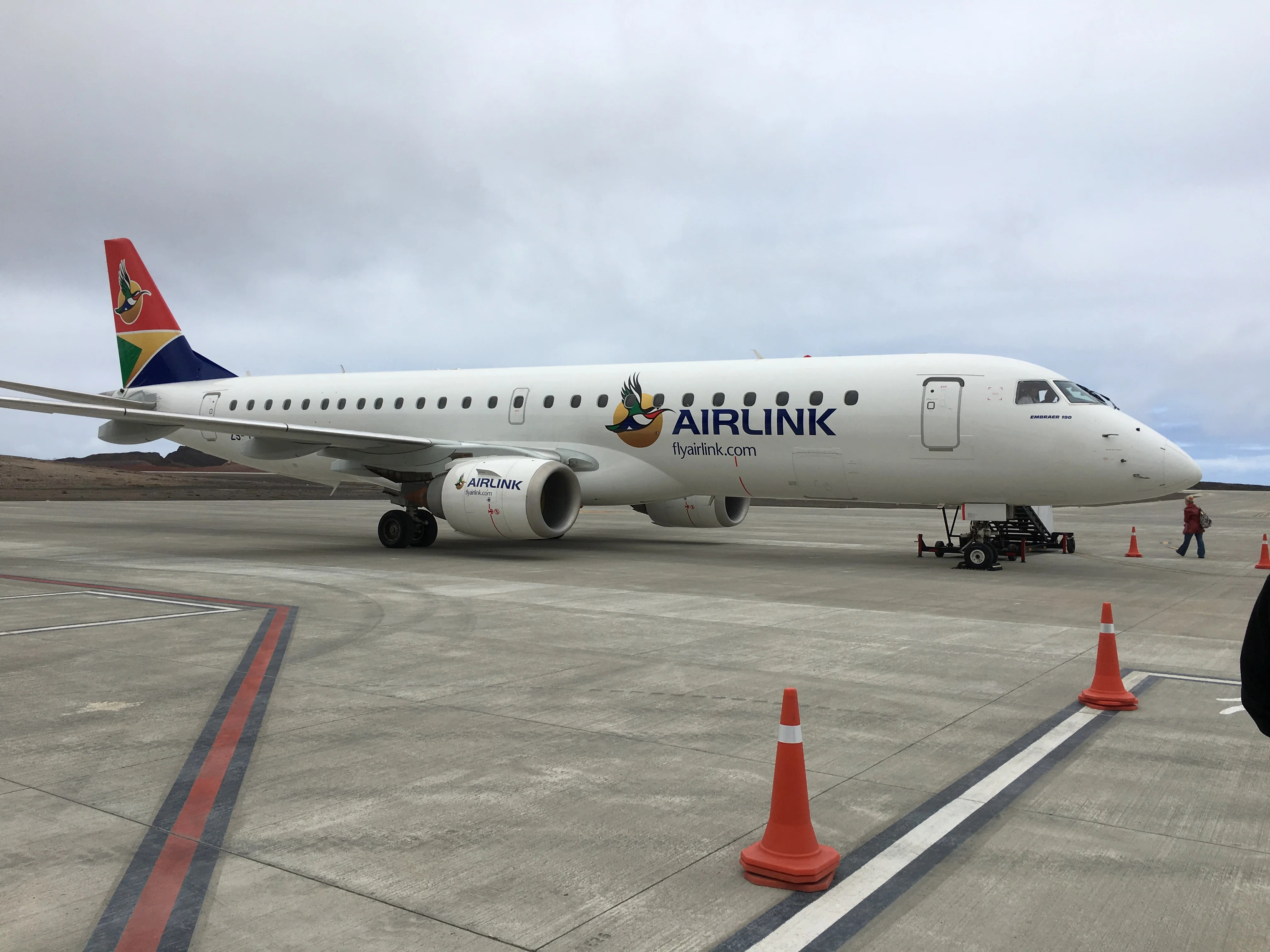 Flight Review: First Commercial Flight to Remote St  Helena