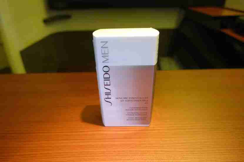 JAL first class Shiseido men
