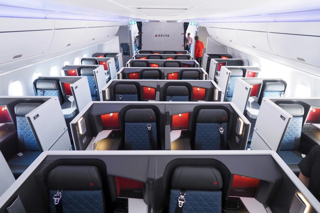 Touring Business Premium Select And Coach On Delta S A350