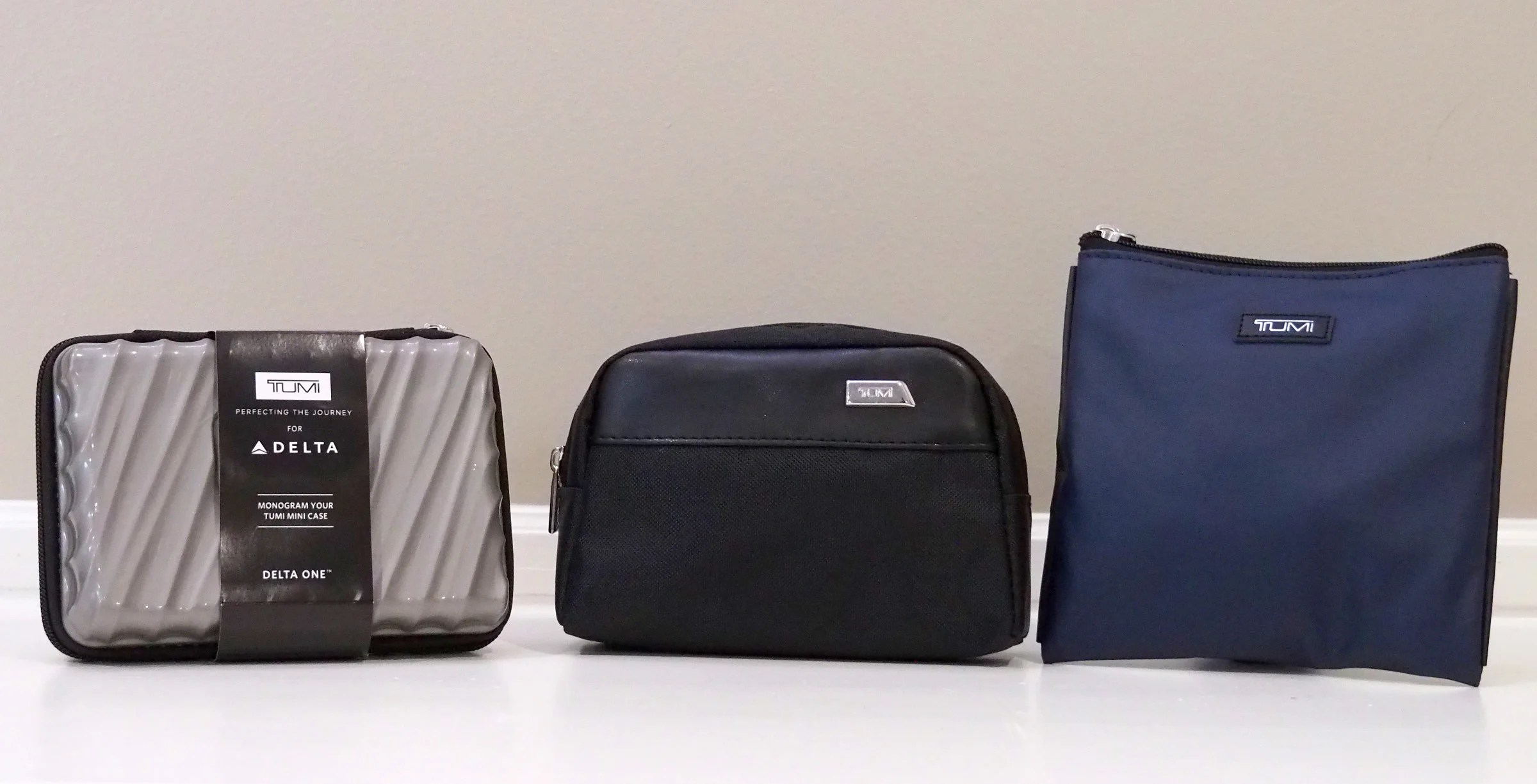 Amenity Kit Review Tumi Delta One And Premium Select