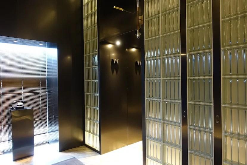 W Shanghai elevator
