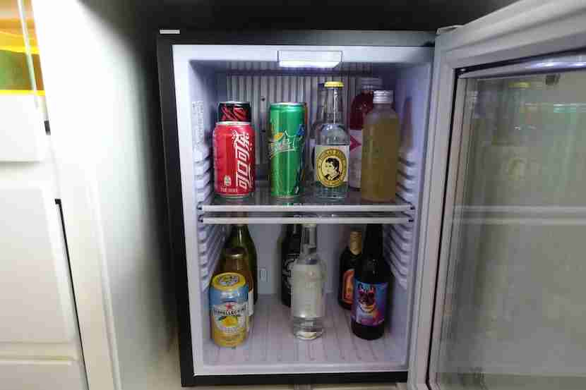 W Shanghai fridge