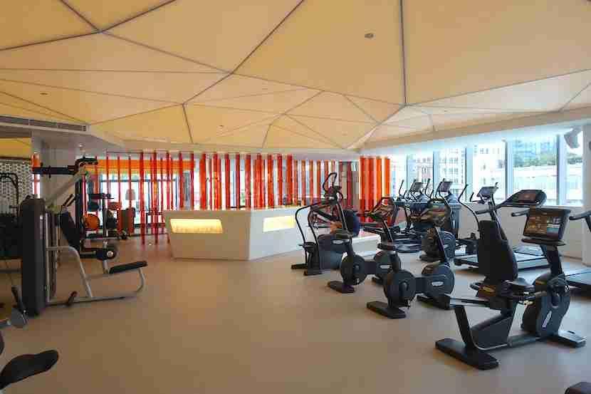 W Shanghai gym 1